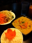 Pad Thai and Yellow Curry